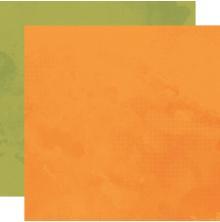 Simple Stories SV Country Harvest Basics Cardstock 12X12 - Squash/Artichoke
