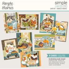 Simple Stories Simple Cards Kit - SV Country Harvest Harvest Wishes