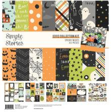 Simple Stories Collection Kit 12X12 - Spooky Nights