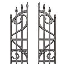Tim Holtz Idea-Ology Metal Ornate Gates 2/Pkg