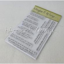 hÄnglar & Wings Clear Stamps - Snorkigt #7