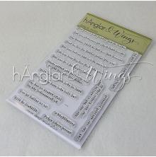hÄnglar & Wings Clear Stamps - Snorkigt #8
