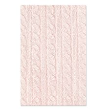 Sizzix 3-D Textured Impressions Embossing Folder - Sweater