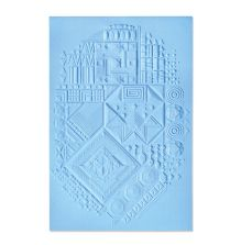 Sizzix 3-D Textured Impressions Embossing Folder - Interface