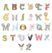 Sizzix Thinlits Die Set - Animal Alphabet