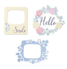 Sizzix Thinlits Die Set - Rounded Picture Frames