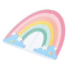 Sizzix Thinlits Die Set - Rainbow Fold-a-Long Card