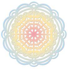Sizzix Thinlits Die Set - Heart Mandala