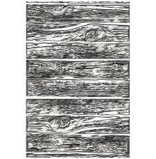 Tim Holtz Sizzix 3-D Texture Fades Embossing Folder - Mini Lumber