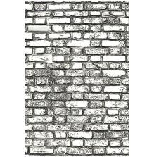 Tim Holtz Sizzix 3-D Texture Fades Embossing Folder - Mini Brickwork