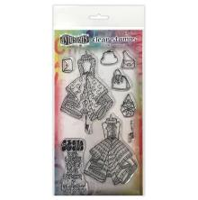 Dylusions Couture Stamp Set - Ladies Who Lunch Duo