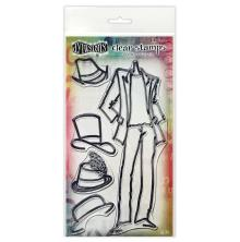 Dylusions Couture Stamp Set - Man About Town