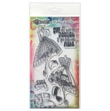 Dylusions Couture Stamp Set - Night At The Opera Duo