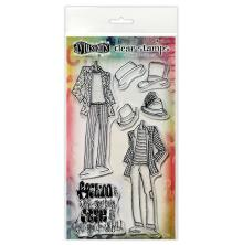 Dylusions Couture Stamp Set - Man About Town Duo
