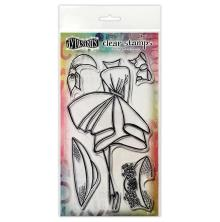 Dylusions Couture Stamp Set - Walk In The Park