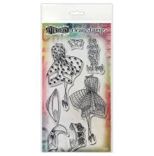 Dylusions Couture Stamp Set - Walk In The Park Duo