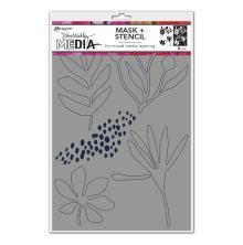 Dina Wakley Media Stencils + Masks 6X9 - Things That Grow