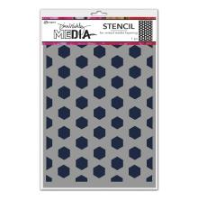 Dina Wakley Media Stencils 9X6 - Fence