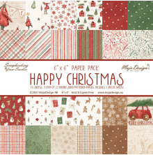 Maja Design 6x6 Paper Pack - Happy Christmas