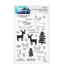 Simon Hurley create. Clear Stamps 6X9 - Oh Deer!