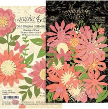 Graphic 45 Staples Flower Assortment - Shades Of Pink