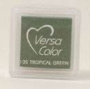 "VersaColor Pigment Inkpad 1"" Cube - Tropical Green"