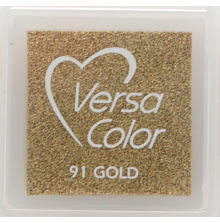 VersaColor Pigment Inkpad 1´ Cube Gold