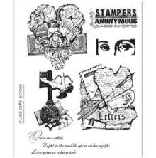 Tim Holtz Cling Stamps 7X8.5 - Classics #8
