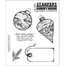 Tim Holtz Cling Stamps 7X8.5 - Classics #10