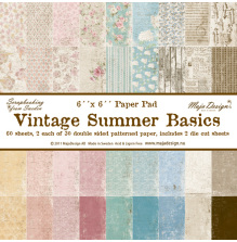 Maja Design 6x6 Paper Pack - Vintage Summer Basics