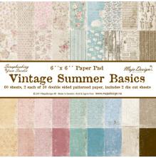 Maja Design 6x6 Paper Pack - Vintage Summer Basics