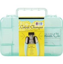 Crop-A-Dile Corner Chomper Carrying Case Aqua