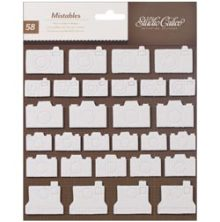 "Studio calico - Heyday Mistable Thickers Shape Stickers 6""X6"" Cameras UTGÅENDE"
