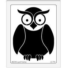 Dreamweaver Stencils LG - Owl UTGÅENDE