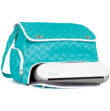 Silhouette Portrait Tote - Teal