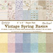 Maja Design 6X6 Paper Pack - Vintage Spring Basics