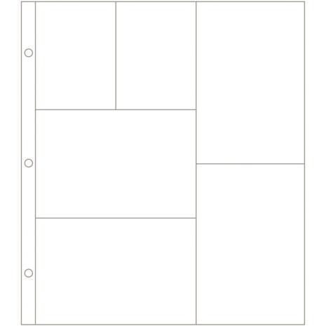Project Life Photo Pocket Pages 12/Pkg - Design G