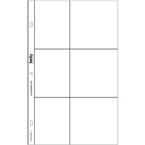 Project Life Photo Pocket Pages 12/Pkg - Design J