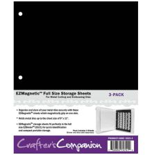 Crafters Companion EZMagnetic 2-N-1 Storage Panels - Full Size 3/Pkg  Sheets