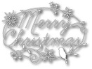 Memory Box Die - Merry Christmas Tidings