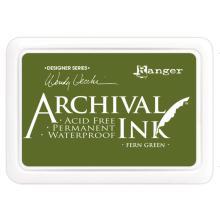 Ranger Archival Ink Pads Wendy Vecchi Designer Series - Fern Green
