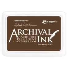 Ranger Archival Ink Pads Wendy Vecchi Designer Series - Potting Soil