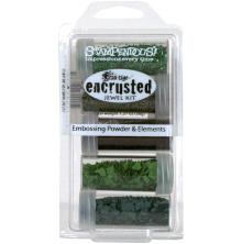Stampendous Frantage Encrusted Jewel kit - Green