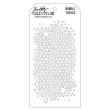Tim Holtz Layered Stencil 4.125X8.5 - Bubble