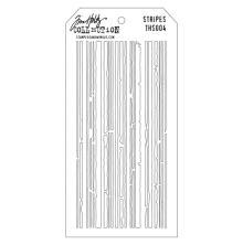 Tim Holtz Layered Stencil 4.125X8.5 - Stripes