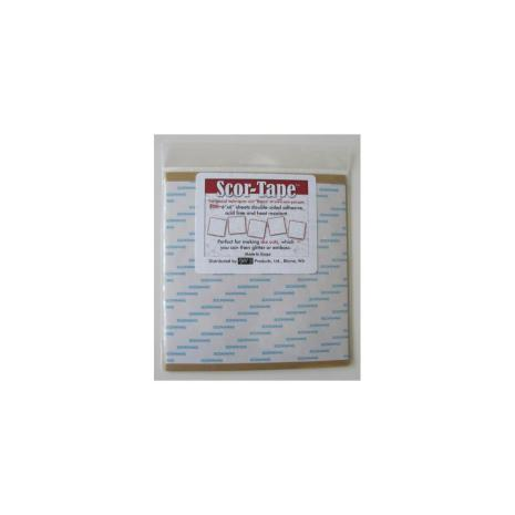 Scor-Pal Scor-Tape Sheets 5/Pkg