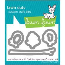 Lawn Fawn Custom Craft Dies - Winter Sparrows