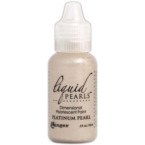 Liquid Pearls Dimensional Pearlescent 18ml - Platinum Pearl