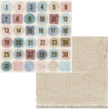 Maja Design Vintage Frost Basics 12x12 - Days Of December