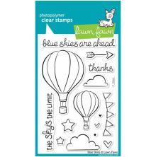 Lawn Fawn Clear Stamps 4X6 - Blue Skies